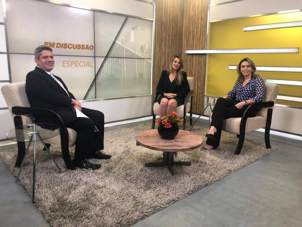 Patricia Blanco participa do Em Discussão, da TV Alesp