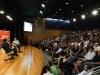 Público assiste Carlos Ayres Britto falar sobre democracia, o poder das instituições e liberdade de imprensa