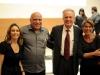 Patricia Blanco, Prof. Eduardo Diniz, Thomas Trebat e Andrea Tissenbaum